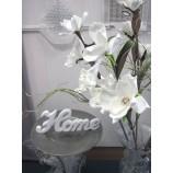 Magnolienzweig geschäumt, künstlich weiß ca. 102 cm