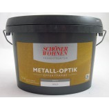 Trendstruktur Metall-Optik matt gold 1L