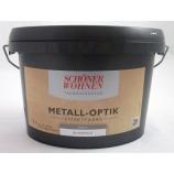 Trendstruktur Metall-Optik matt blassgold 1L