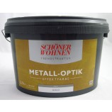 Trendstruktur- Metall-Optik - Effektfarbe Gold matt 2,5l