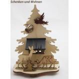 Motivsockel Wald 7,5 x 4 x 11 cm, Natur - Neuheit 2016 -