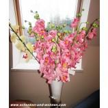 Kunst - Orchidee Phalaenopsis,  Rosa, 80 cm