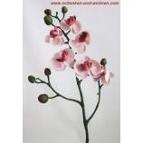 Kunst - Orchidee Phalaenopsis,  Rosa, Mini ca. 57 cm