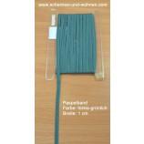 Paspel Keder Borte 1 cm breit türkis Meterware