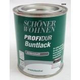 ProfiDur Buntlack - Kunstharzlack, seidenmatt RAL 9010 reinweiß 0,125 l