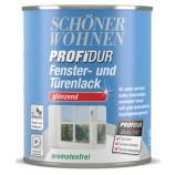 ProfiDur Fenster- und Türenlack - Alkydharzlack, glänzend, weiß, 750 ml