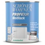 ProfiDur Weißlack - Alkydharzlack, seidenmatt weiß 125 ml