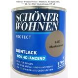 Protect Buntlack 375 ml, Fb.-Nr.: 8563 Muskatbraun hochglz. Alkydharzlack SW