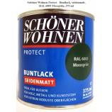 Protect Buntlack 375 ml, RAL 6005 Moosgrün seidenmatt, Alkydharzlack