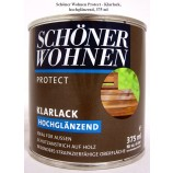 Protect Klarlack - Alkydharzlack, hochglänzend, farblos, 375 ml