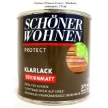 Protect Klarlack - Alkydharzlack, seidenmatt, farblos, 375 ml