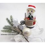 """Räucherfigur """" Strickpüppchen """" Santa mit Geschenken ca. 13 cm"""