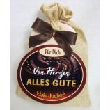 """Schokosäckchen """"Von Herzen alles Gute"""" mit 95 g Schokolade"""