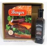 Geschenkset Burger-Buch mit BBQ Sauce Jack Daniel`s 260 g