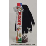 Geschenkset mit Smartphone-Handschuhen für Maler