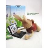 Kuhnert Stupsi Hase mit Laptop ca. 11 cm