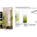Schiebevorhang Farbverlauf grün 60x245 cm