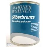 Silberbronze für außen und innen - Siliconharzlack 125 ml