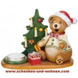 Hubrig - Räucherteddy`s Weihnachtsgeschenke mit Teelichthalter