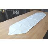 Tischwäsche Tischband 20 x 160 cm wollweiß