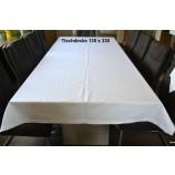 Tischwäsche Tischdecke 130 x 330 cm weiß Point