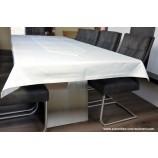 Tischwäsche Tischdecke 130 x 330 cm wollweiß