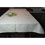 Tischwäsche Tischdecke 130 x 230 cm champagner Königslilie