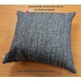 Kissenhülle 45 x 45 cm Torrent grau