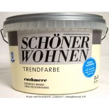 """Schöner Wohnen cremige Wand- und Deckenfarben """"cashmere"""" seidenglänzend; 2,5l"""