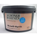 Metall-Optik-Effektfarbe roségold glänzend 2,5l