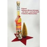 Geschenk-Set fertig verpackt Williams-Birnen-Schnaps Uli Stein