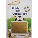 """Kleines Wünschebuch  """"Kohle zum Verballern"""" ca. 10,5 x 14,5 cm"""