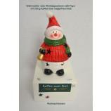 Kaffee zum Fest 200 g mit LED-Figur Weihnachtsmann