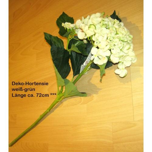 Deko-Hortensie Creme-grün Ca. 72 Cm