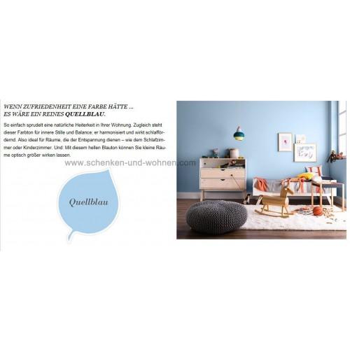 Schöner Wohnen Quellblau: Schöner Wohnen Mineral-Wandfarbe Quellblau 2,5 L